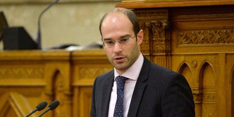 Hollik István kereszténydemokrata országgyűlési képviselő.  MTI Fotó: Bruzák Noémi
