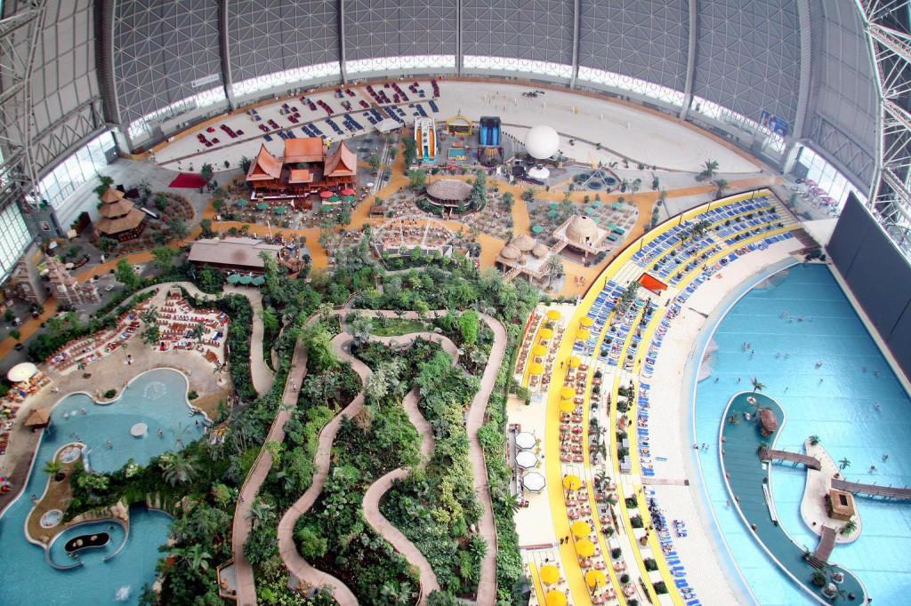 A berlini Tropical Islands élményfürdő. Fotó: Wikimedia Commons