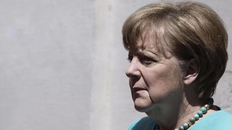 Angela Merkelnémet kancellár. EPA/ANGELO CARCONI