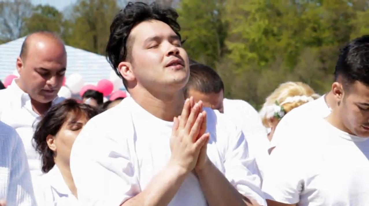 megkeresztelkedés