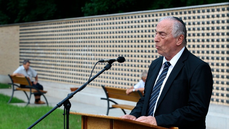 Holokauszt-emlékművet avattak Békéscsabán