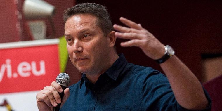 Ujhelyi István szocialista európai parlamenti képviselő. MTI Fotó: Marjai János