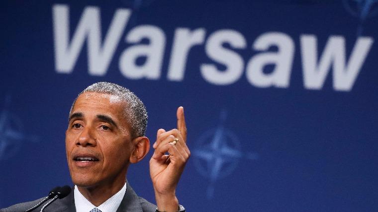 Obama: az USA nem fogja soha cserben hagyni Európát