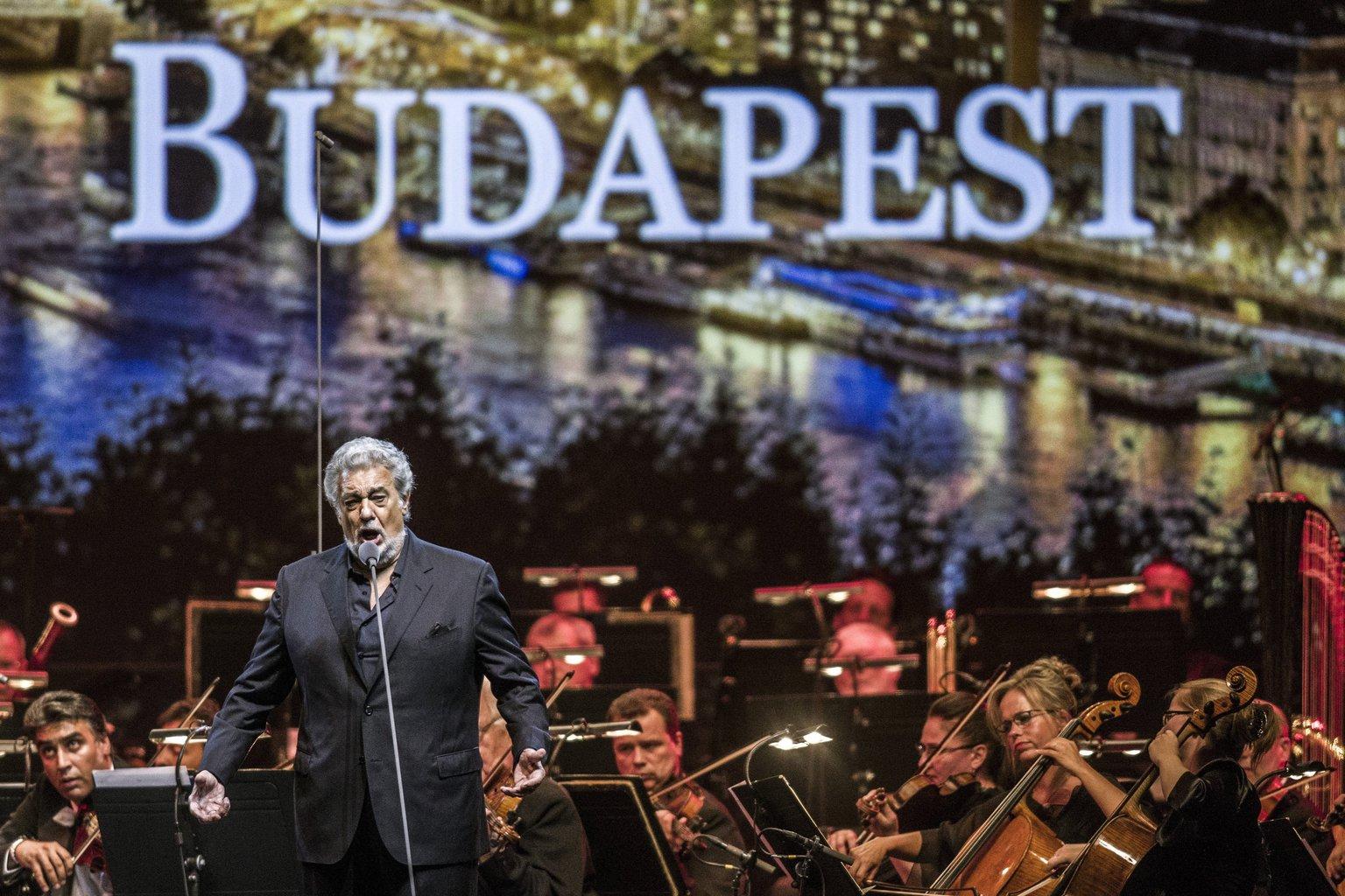 A képen 2016-os budapesti koncertjén (Fotó: MTI/Szigetváry Zsolt)