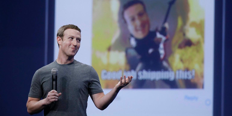 Mark Zuckerberg.