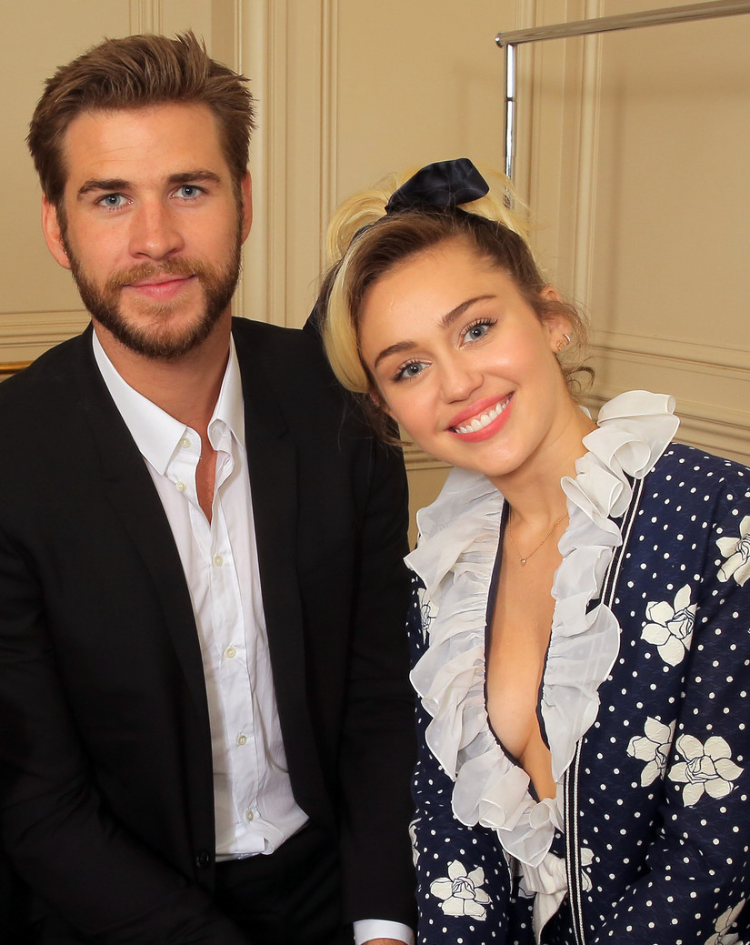 Miley Cyrus és Liam Hemsworth (Fotó: Rex Features)
