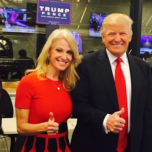 Trump és kampányfőnöke - Kellyanne Conway