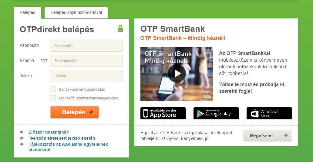 otp direkt banking
