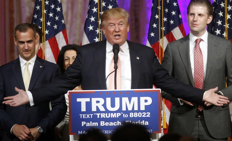 Donald Trump lehet a választás legnagyobb nyertese: senki sem hitte, hogy indul ez elnöki pozícióért, majd azt gondolták, nem ő lesz a republikánusok befutója. Majd kizártnak tartották, hogy nyerhet - amire hatalmas esélye van (Fotó: EPA)