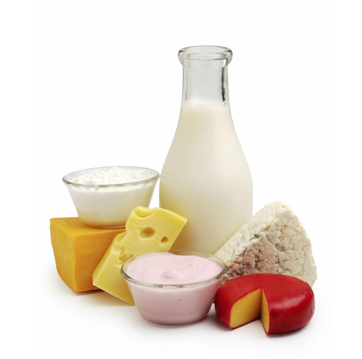 Illusztráció - tejtermékek. (Fotó: Connection/REX/Shutterstock)