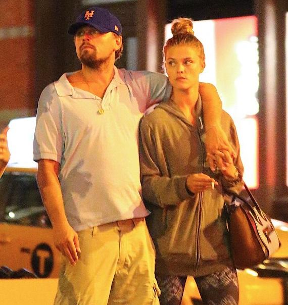 Leonardo DiCaprio és Nina Agdal. Fotó: Twitter