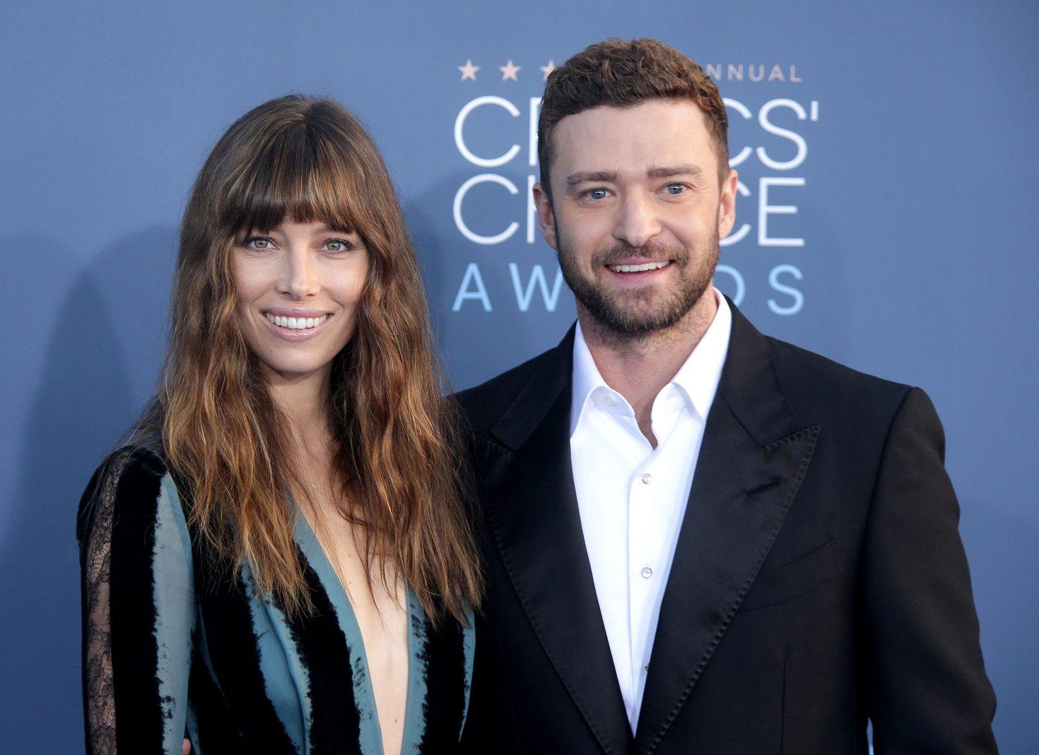 Justin Timberlake és Jessica Biel. Fotó: MTI/EPA