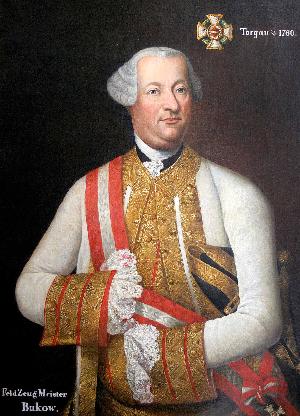 Ismeretlen művész alkotása Gróf Adolf Nikolaus Buccowról, a Habsburg Birodalom morva származású tábornokáról. Forrás: WikimediaCommons