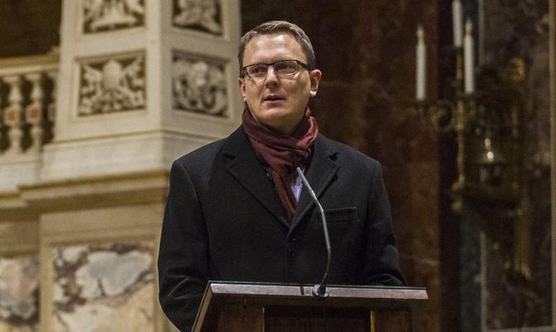 Rétvári Bence, az Emberi Erőforrások Minisztériumának parlamenti államtitkára (MTI Fotó: Szigetváry Zsolt)