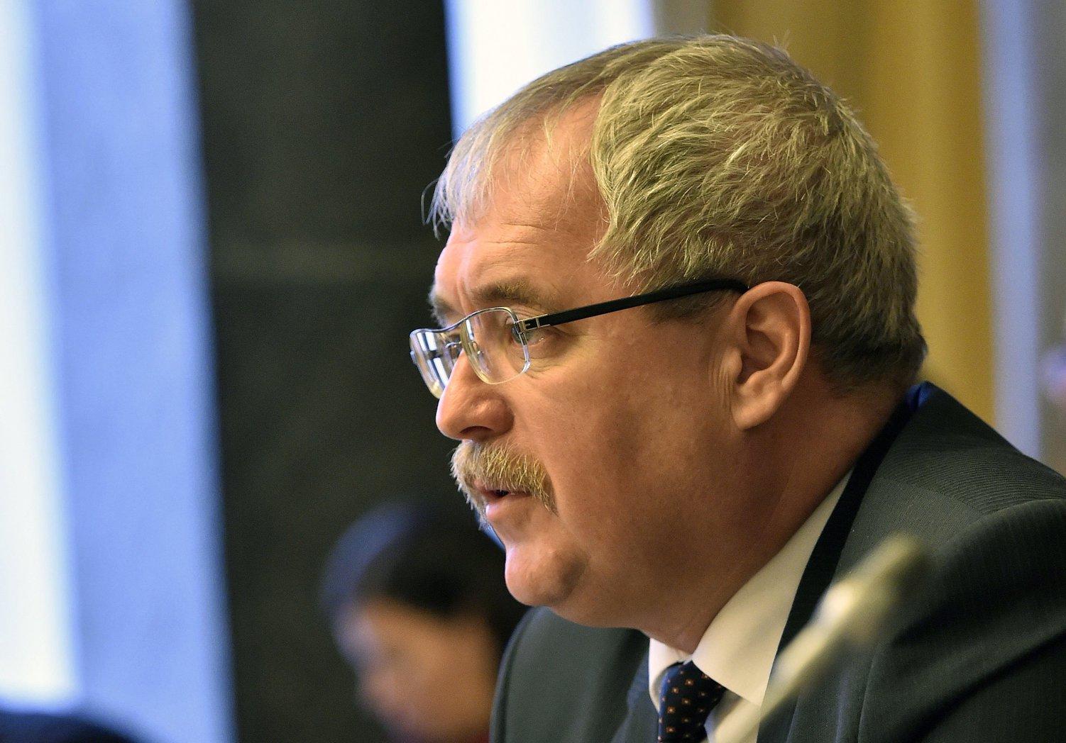 Fazekas Sándor földművelésügyi miniszter. MTI Fotó: Máthé Zoltán