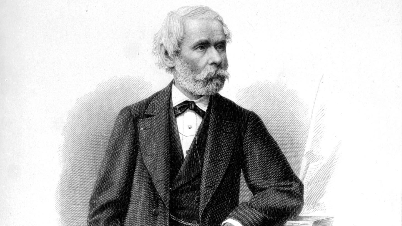 Arany János, a legnagyobb magyar epikus költő, az MTA tagja, 1817. március 2-án született Nagyszalontán. Meghalt 1882. október 22-én Budapesten. MTI Fotó