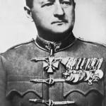 Stomm Marcell altábornagy, a magyar 2. hadsereg hadtestparancsnoka. Az eredeti felvétel készítésének pontos dátuma, helye és szerzője ismeretlen (MTI Fotó: Reprodukció)