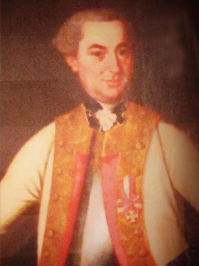 Ismeretlen festő portéja Siskovics József (Josip Šišković) horvát-magyar báróról. Forrás: WikimediaCommons