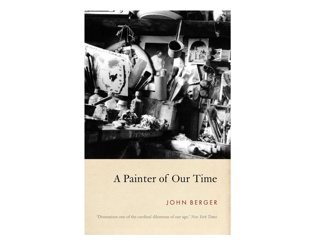 Korunk festői című John Berger-kiadvány borítója. Kép: Verso Books/MTVA Újmédia