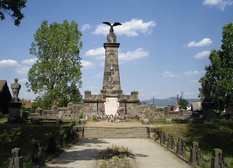 A madéfalvi veszedelem emlékműve (Siculicidium emlékmű) Forrás WikimediaCommons/Kabóca