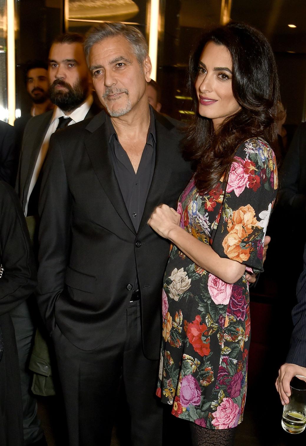 George és Amal Clooney. Fotó: Getty Images
