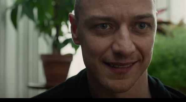 James McAvoy a Széttörve című thrillerben.