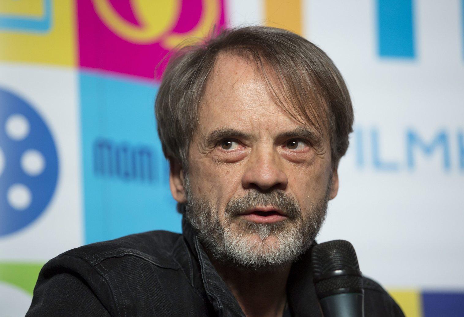 Novák Emil, a Magyar Filmakadémia elnöke. Fotó: MTI/Mohai Balázs