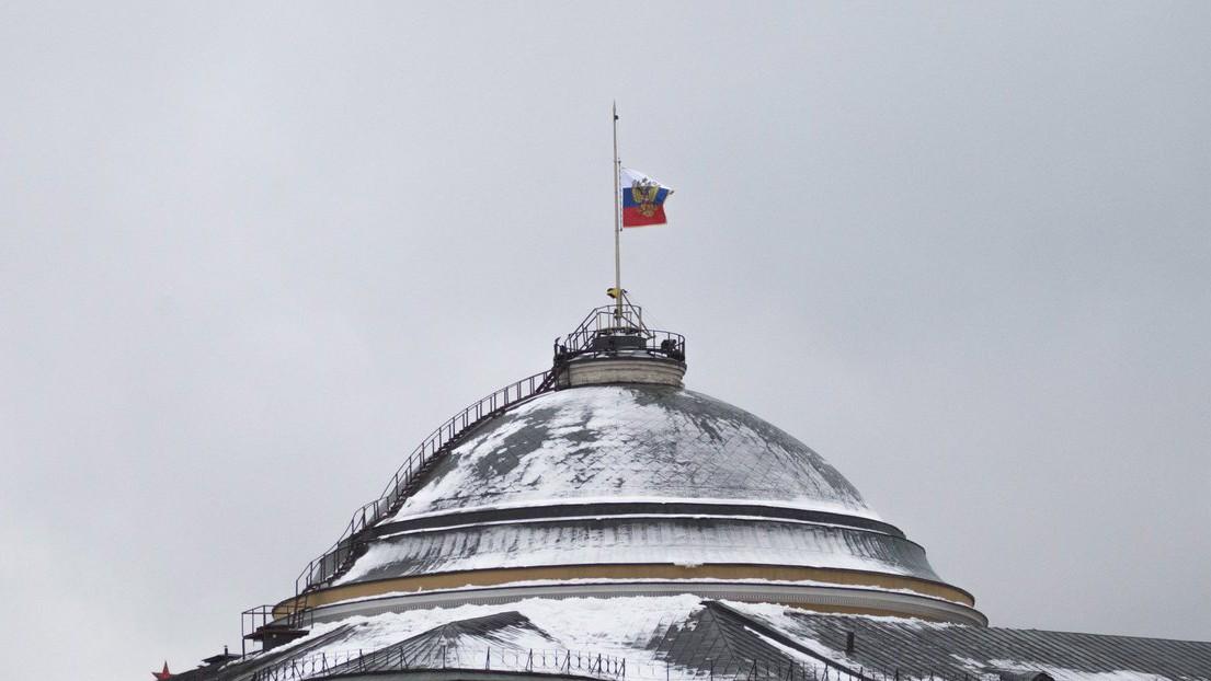 Az oroszországi Kreml kupolája - képünk illusztráció (Fotó: MTI/AP/Ivan Szekretarev)