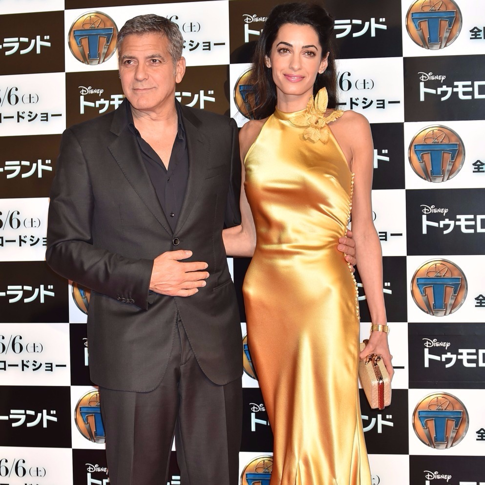 George és Amal Clooney. Fotó: Getty Images Entertainment