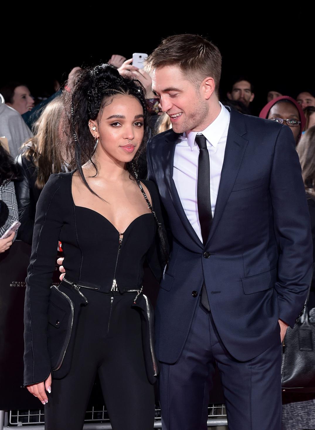 Robert Pattinson és FKA Twigs. Fotó: Camera press