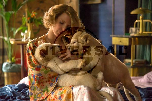 Jessica Chastain a Menedék című filmben. Jelenetfotó