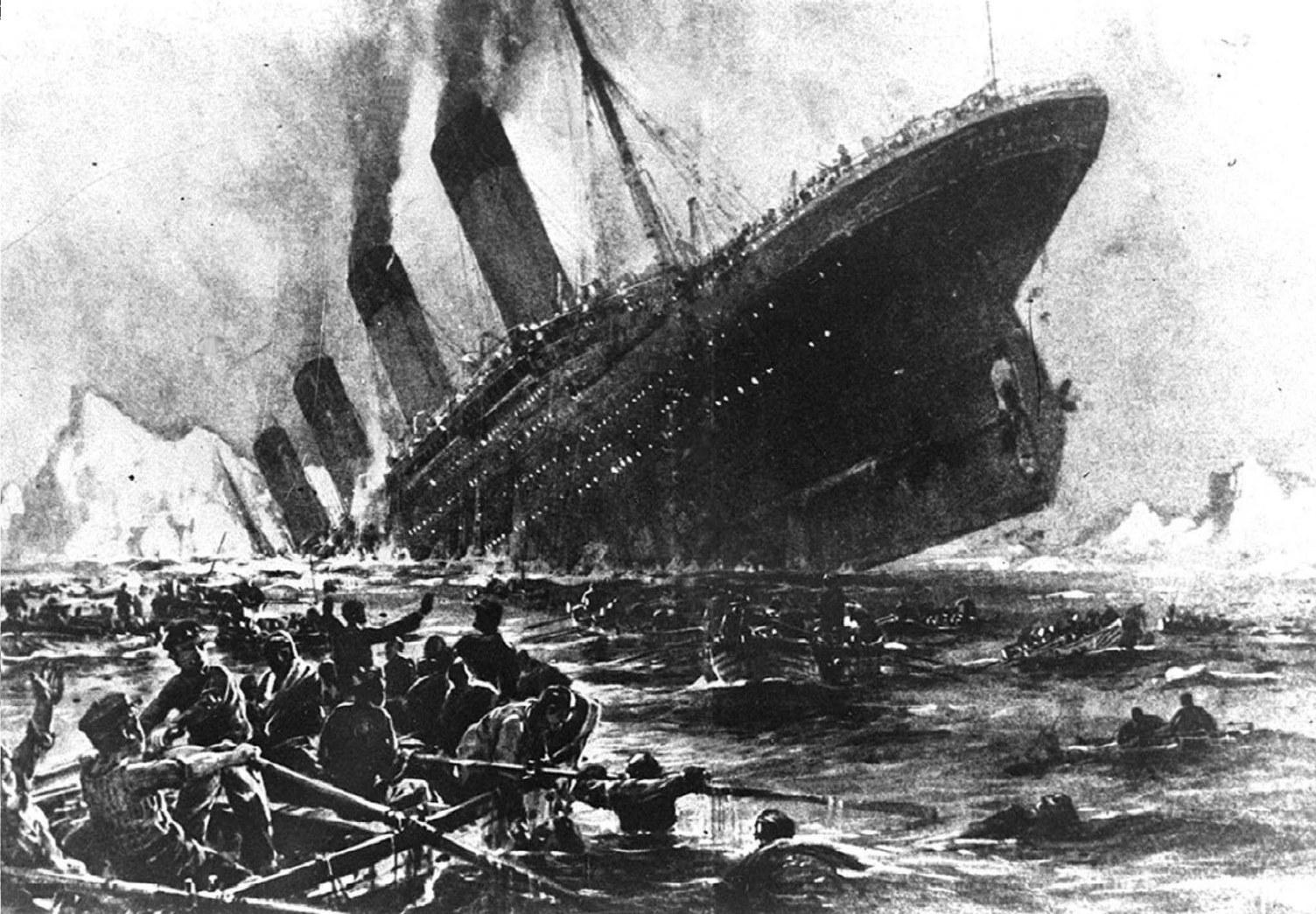 A New York Times 1997. áprilsi 8-i számában megjelent cikk szerint egy új tudományos kutatás arra a következtetésre jutott, hogy hat, emberi tenyér szélességű vágás, és nem egy hatalmas hasadék okozta a Titanic óceánjáró 1912. április 14-én bekövetkezett katasztrófáját. (MTI FOTO/EPA)
