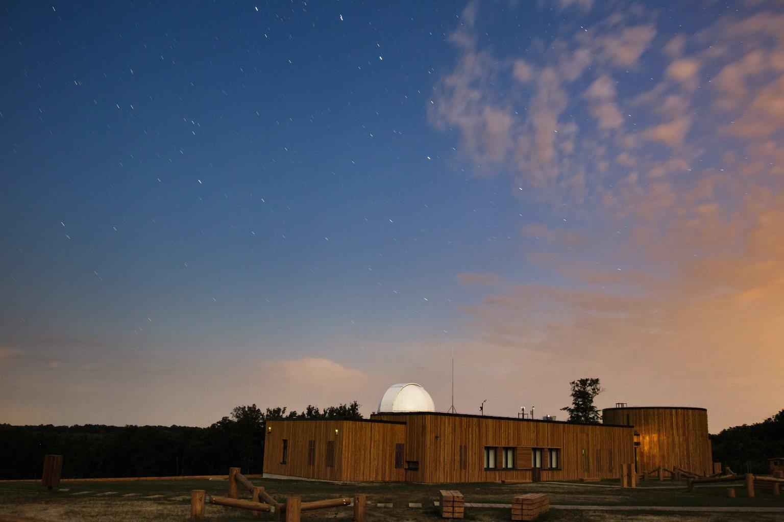 A  Zselici Csillagpark turisztikai komplexuma. MTI Fotó: Varga György