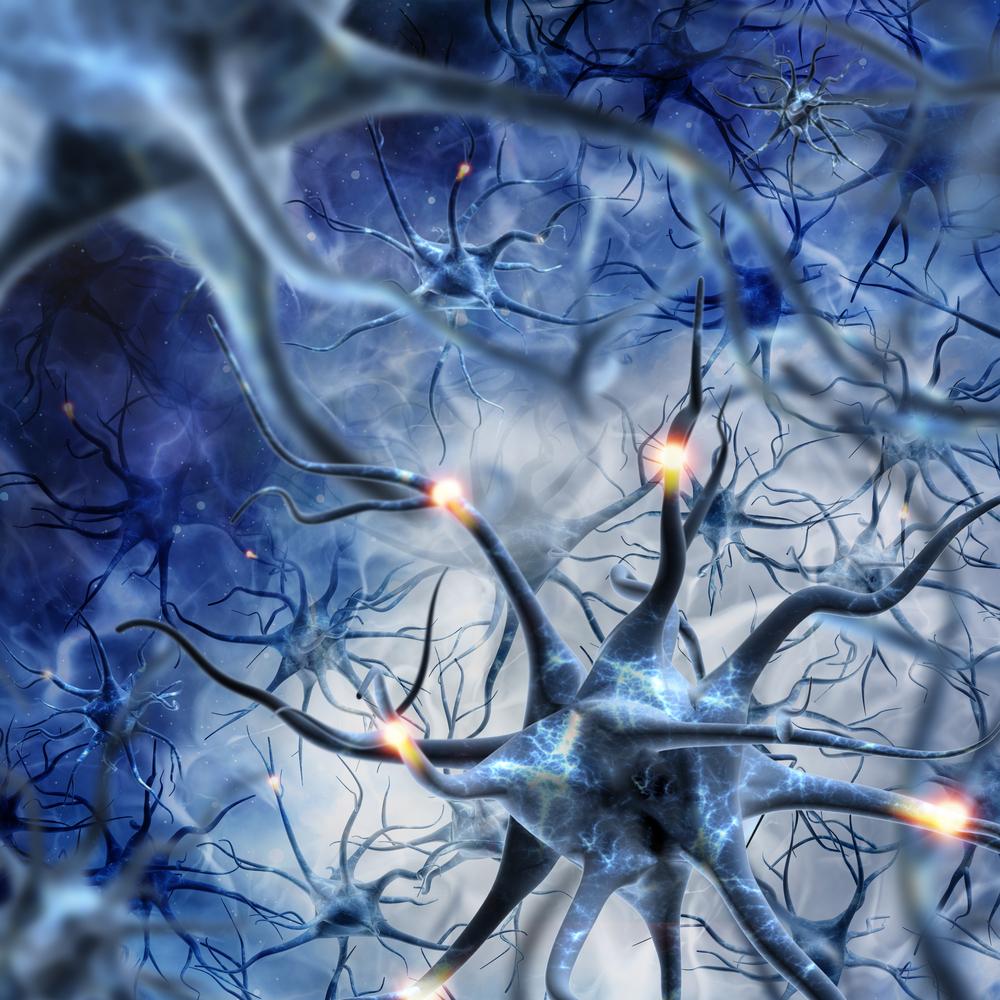 Illusztráció - kommunikáló agyi idegsejtek. (Fotó: Shutterstock)