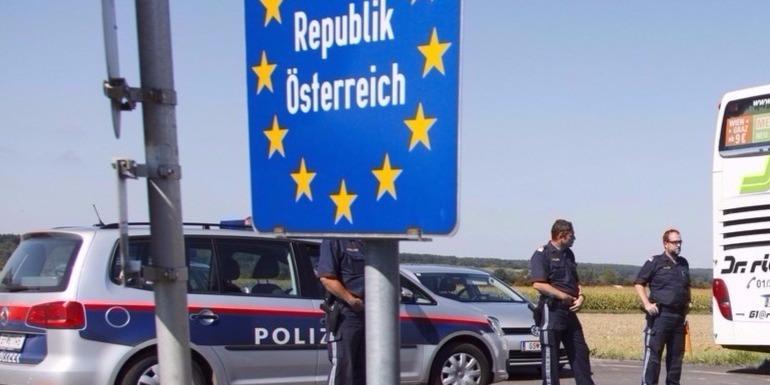 Fokozott határellenőrzés kezdődött az osztrák-magyar határon
