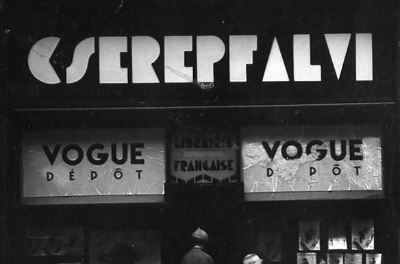 Cserépfalvi Könyvkiadó a '30-as évek Budapestjén.