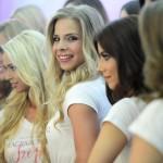 A 2017-es Magyarország Szépe - Miss World Hungary szépségverseny versenyzői a rendezvény budapesti sajtótájékoztatóján 2017. május 18-án.<br /> MTI Fotó: Kovács Tamás