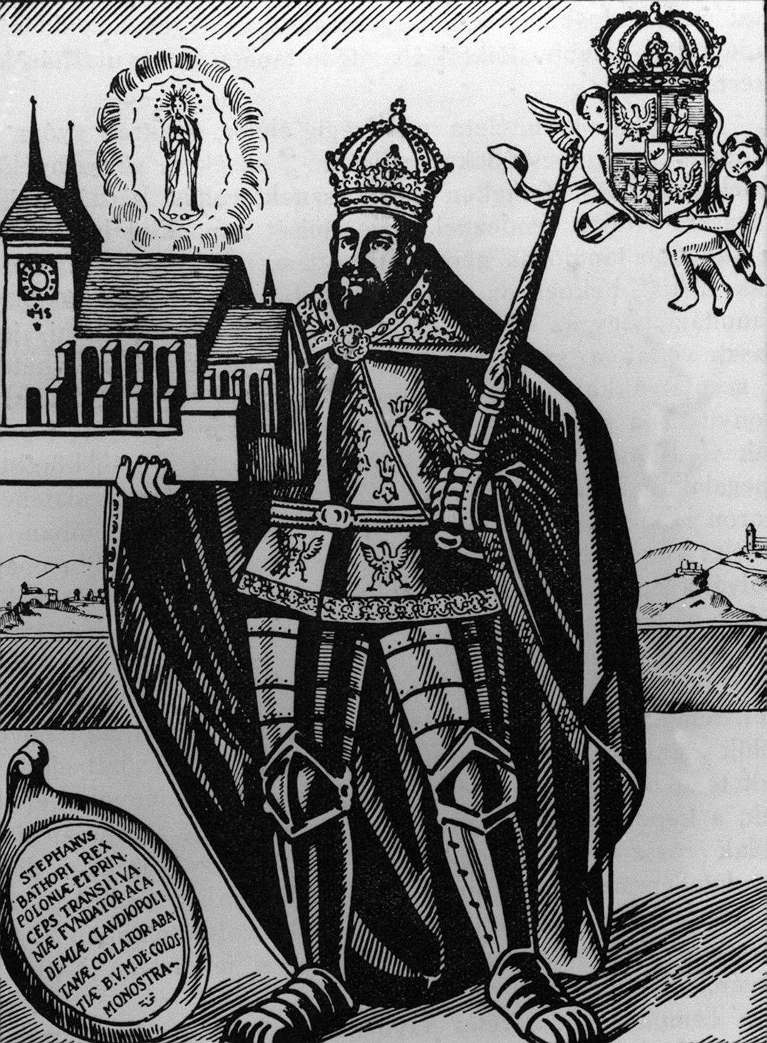 Báthory István erdélyi fejedelem, Lengyelország királya. MTI Fotó