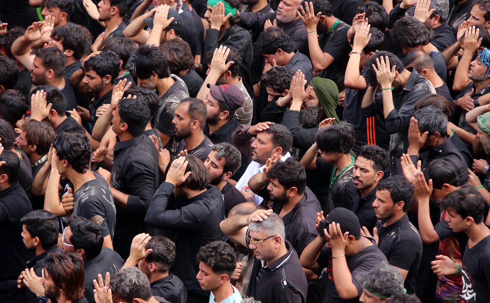 Siíta muzulmánok (Fotó: Europress/Sabah Arar/AFP)