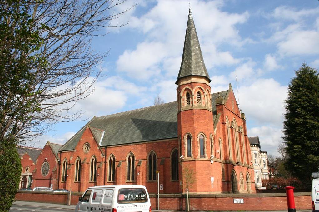A Didsbury mecsetet egy templomból alakították át (Fotó: Twitter)
