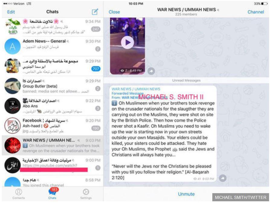 """A szóban forgó szöveg a """"War News"""" nevű, 225 tagú WhatsApp-csoportban (Fotó: 888.hu)"""