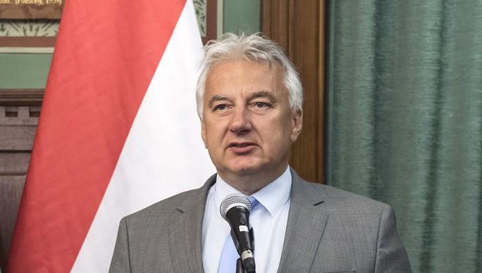 Semjén Zsolt nemzetpolitikáért felelős miniszterelnök-helyettes (MTI Fotó: Szigetváry Zsolt)