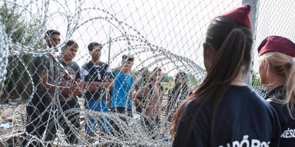 A hétvégén 128 határsértőt tartóztattak fel