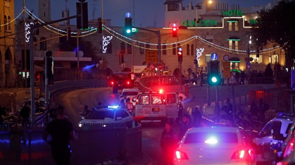 Késeléses merénylet Jeruzsálemben