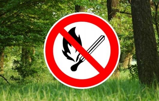 Tűzgyújtási tilalmat rendeltek el hét megyében