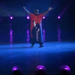 Budapest, 2017. július 14.<br /> CeeLo Green háromszoros Grammy-díjas amerikai énekes 17. vizes világbajnokság megnyitóján a Lánchíd pesti hídfőjénél, a Duna vizén kialakított alkalmi színpadon 2017. július 14-én.<br /> MTI Fotó: Koszticsák Szilárd