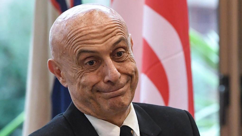 Marco Minniti, olasz belügyminiszter (Fotó: MTI/EPA/Alessandro Di Meo)