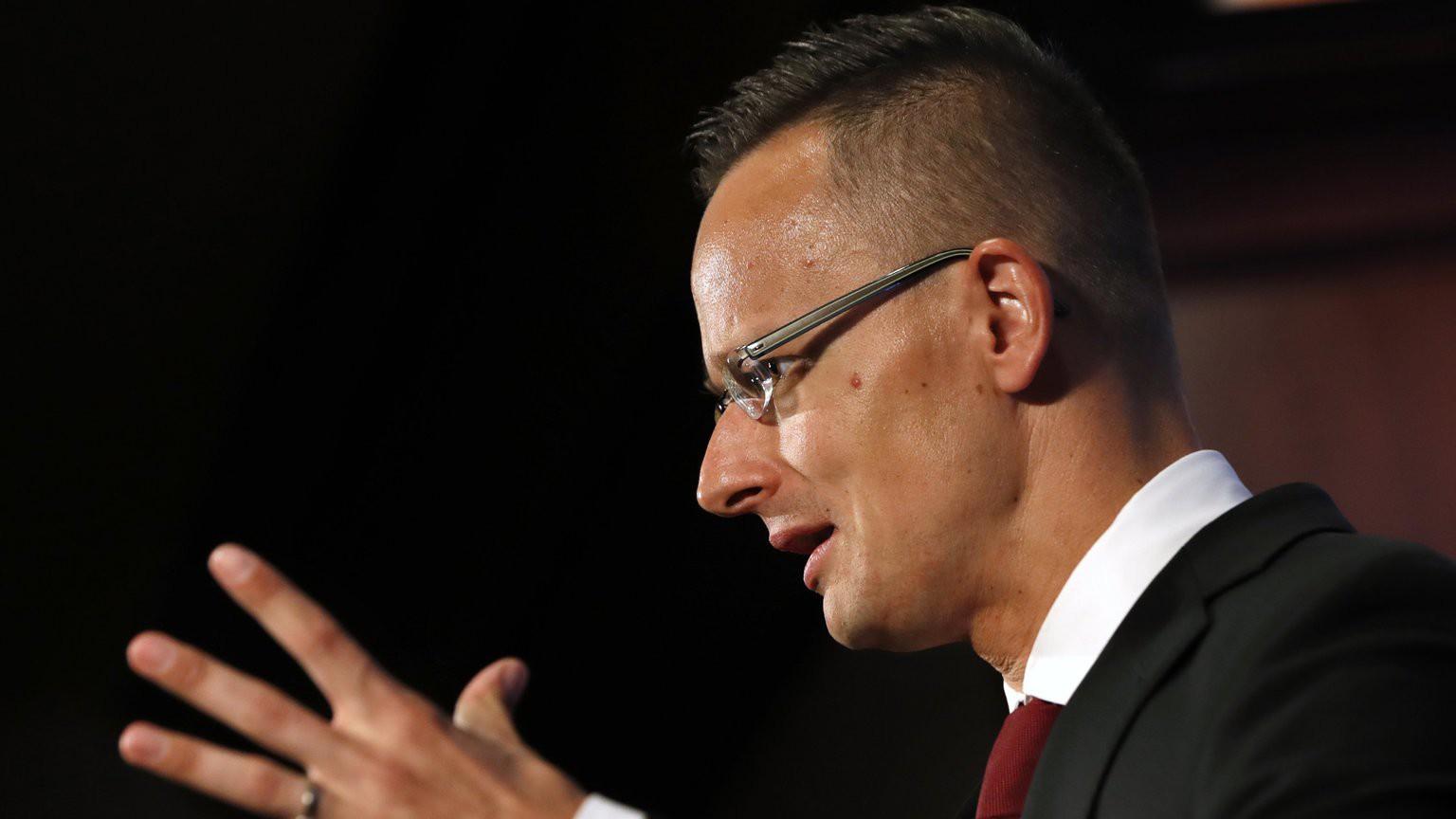 Szijjártó Péter külgazdasági és külügyminiszter (Fotó: MTI/AP/Jacquelyn Martin)