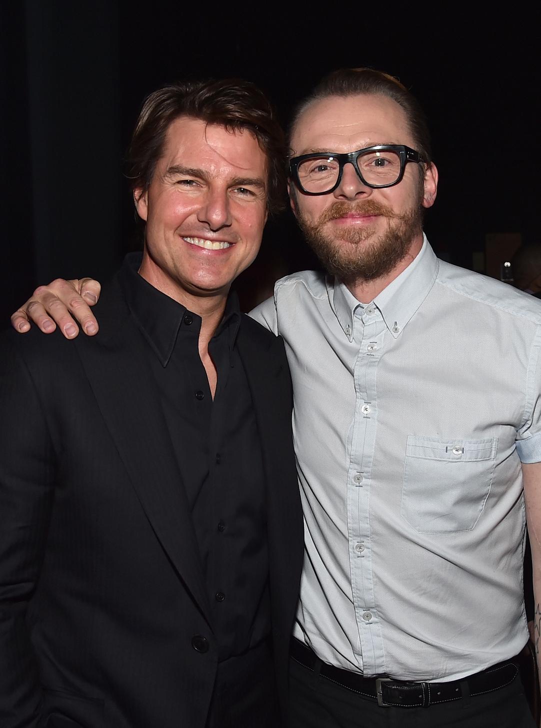 Tom Cruise és Simon Pegg is visszatérnek az új részben. Fotó: