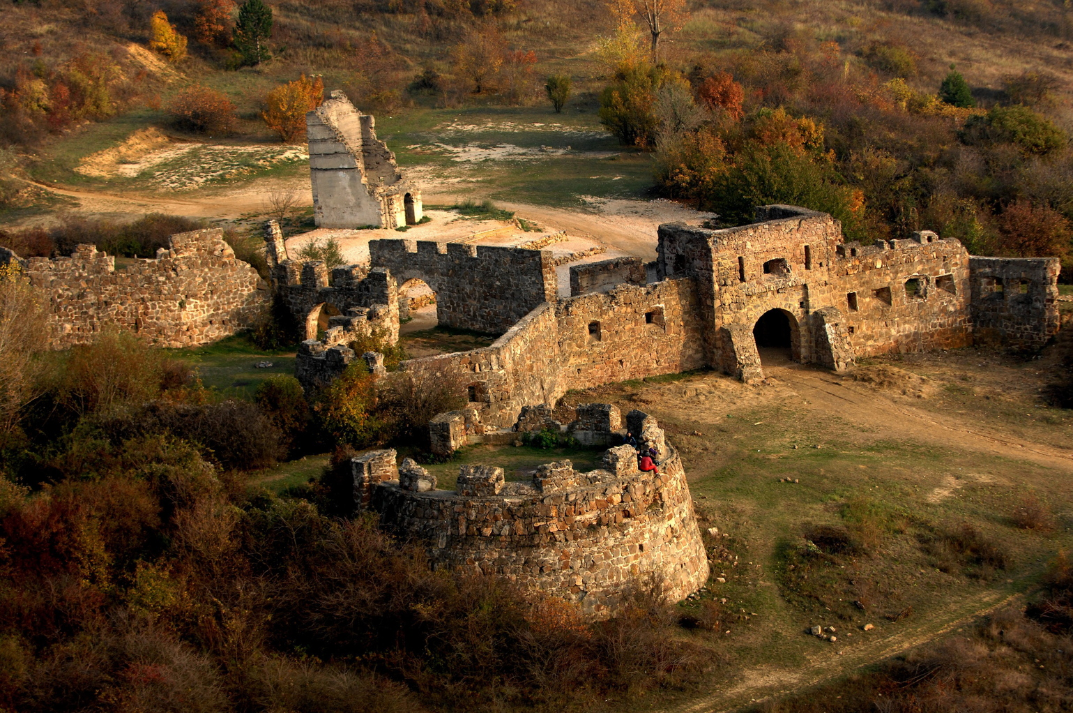 Az Egri csillagok című film egykori forgatási helyszíne Pilisborosjenőn. MTI Fotó: H. Szabó Sándor